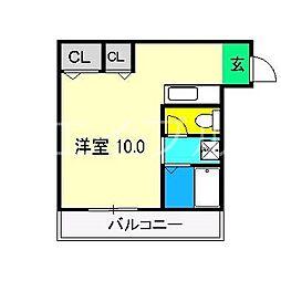リドーヴェール[2階]の間取り