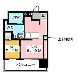 DHガーデン平尾[2階]の間取り