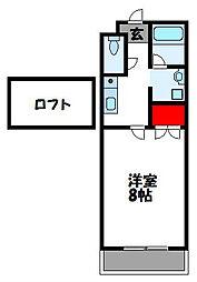 ロフトM[1階]の間取り