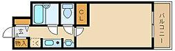 ステラハウス1[4階]の間取り