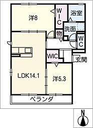 仮)D−room妙興寺[2階]の間取り