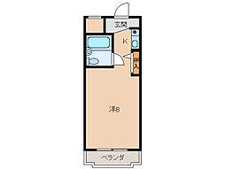 シスターキャンパス[2階]の間取り