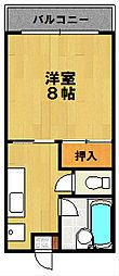 山本学園ビル[202号室]の間取り