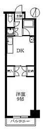 第6水野マンション[133号室]の間取り