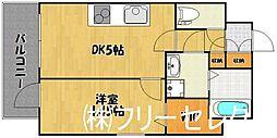 YGM博多[4階]の間取り
