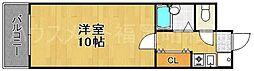 アプリーレ今泉[1階]の間取り