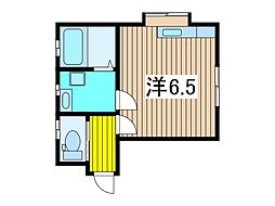 東本郷アパート[1階]の間取り