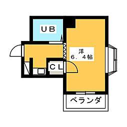 プレアール名古屋原[2階]の間取り