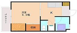 宮原ビル[4階]の間取り