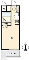 埼玉県さいたま市中央区上落合3丁目の賃貸マンションの間取り