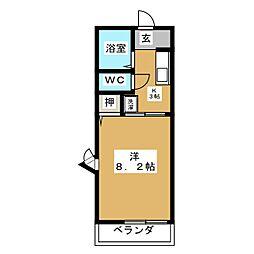コトー葵[2階]の間取り