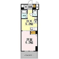 フェニックス日本橋高津[8階]の間取り