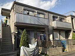 東京都江戸川区上一色1丁目の賃貸マンションの外観