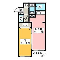 OPUS 512[2階]の間取り