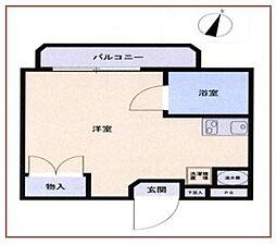 メゾン・ド・セニュール[2階]の間取り