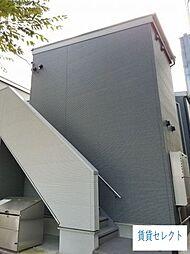 千葉県松戸市新松戸北2の賃貸アパートの外観