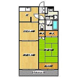 Habitation Minamikasai[3階]の間取り