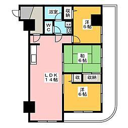 ベルハウス井野II[2階]の間取り