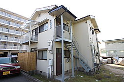 広島県広島市安佐南区東原3丁目の賃貸アパートの外観