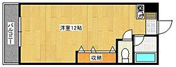 メゾンフジヨシ[1階]の間取り