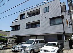 東京都大田区北千束2丁目の賃貸マンションの外観