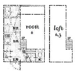 吹上パークタワー31F[1階]の間取り