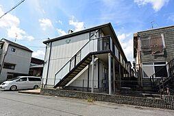 大阪府枚方市須山町の賃貸アパートの外観