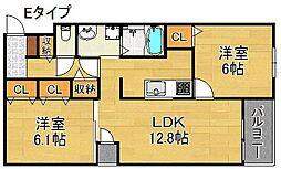 グリーンフルハウス[4階]の間取り