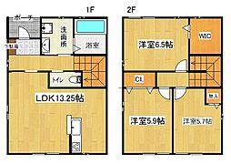[一戸建] 兵庫県神戸市西区丸塚1丁目 の賃貸【/】の間取り