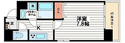 サムティ上町台龍造寺[9階]の間取り