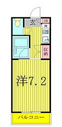SK関口ビル[305号室]の間取り