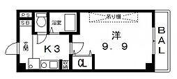 桜ヶ丘晴楽館[1203号室号室]の間取り