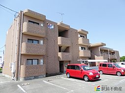 熊本県玉名市築地の賃貸マンションの外観