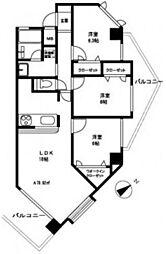 広島県広島市西区南観音1丁目の賃貸マンションの間取り