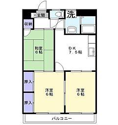 政和ビル[5階]の間取り