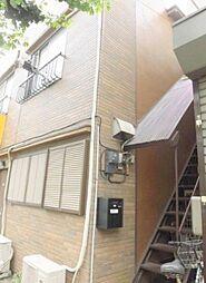 東京都世田谷区下馬1丁目の賃貸アパートの外観