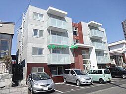 北海道札幌市東区本町二条1の賃貸マンションの外観