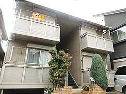 東京都中野区鷺宮2丁目の賃貸アパートの外観