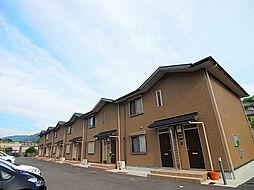 兵庫県神戸市北区山田町下谷上池之内の賃貸アパートの外観