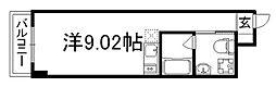 京都府京都市中京区壬生土居ノ内町の賃貸マンションの間取り