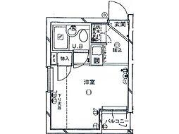 ジュール東高円寺[1階]の間取り