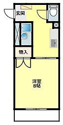 男川駅 3.8万円