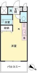 コア・OK3[9階]の間取り