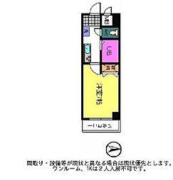 大阪府大阪市阿倍野区阪南町2の賃貸マンションの間取り