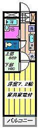埼玉県さいたま市南区太田窪5丁目の賃貸マンションの間取り