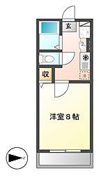 シェトワ御器所[2階]の間取り
