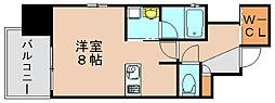 プライムアーバン博多東[9階]の間取り
