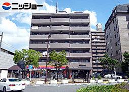 駅前マンション[4階]の外観