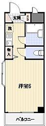 クリスタルマンション[3階]の間取り