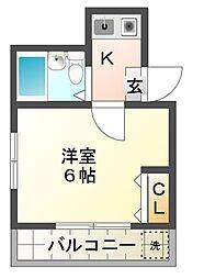 Sビル[2階]の間取り